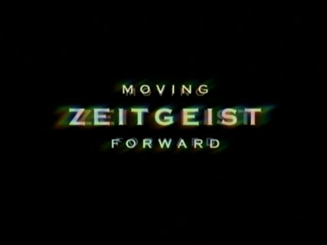 Essay on the Zeitgeist ?